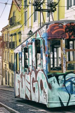 Welcome to Portugal Collection - Graffiti Tramway Lisbon III by Philippe Hugonnard
