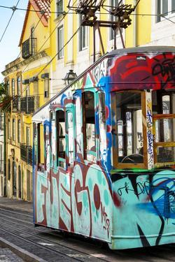 Welcome to Portugal Collection - Graffiti Tramway Lisbon by Philippe Hugonnard