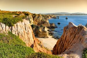 Welcome to Portugal Collection - Lagos Beach at Sunset by Philippe Hugonnard