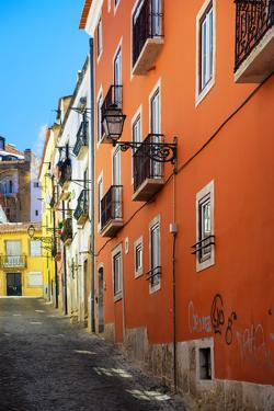 Welcome to Portugal Collection - Lisbon Colorful Facades by Philippe Hugonnard