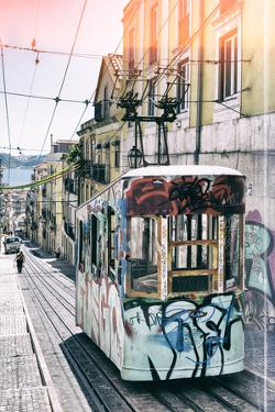 Welcome to Portugal Collection - Lisbon Tram Graffiti II by Philippe Hugonnard