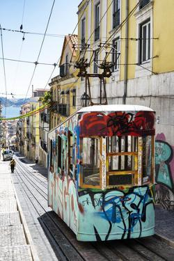 Welcome to Portugal Collection - Lisbon Tram Graffiti by Philippe Hugonnard