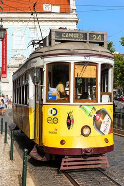 Welcome to Portugal Collection - Lisbon Tram by Philippe Hugonnard