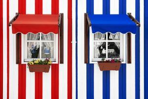 Welcome to Portugal Collection - Palheiros Typical Colorful Houses by Philippe Hugonnard
