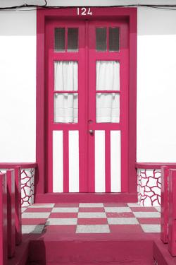 Welcome to Portugal Collection - Pink House Entrance by Philippe Hugonnard