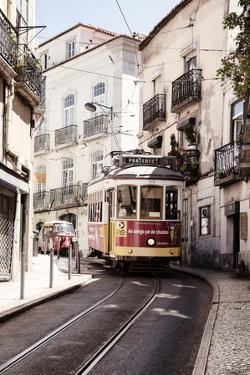 Welcome to Portugal Collection - Prazeres 28 Lisbon Tram II by Philippe Hugonnard