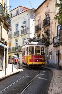 Welcome to Portugal Collection - Prazeres 28 Lisbon Tram by Philippe Hugonnard