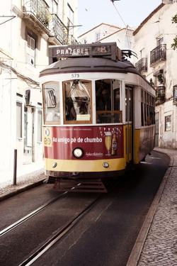Welcome to Portugal Collection - Prazeres Tram 28 Lisbon II by Philippe Hugonnard