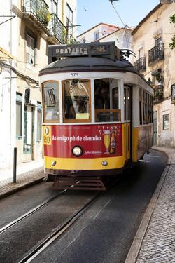 Welcome to Portugal Collection - Prazeres Tram 28 Lisbon by Philippe Hugonnard