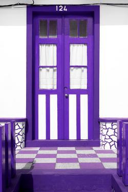 Welcome to Portugal Collection - Purple House Entrance by Philippe Hugonnard