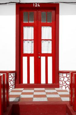 Welcome to Portugal Collection - Red House Entrance by Philippe Hugonnard