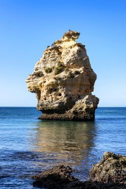 Welcome to Portugal Collection - Rocks at Praia da Marinha Beach II by Philippe Hugonnard