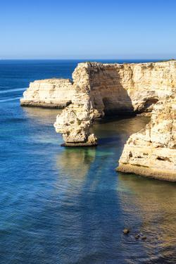 Welcome to Portugal Collection - Rocks at Praia da Marinha Beach by Philippe Hugonnard