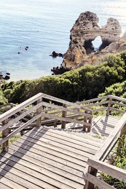 Welcome to Portugal Collection - Stairs to access the paradise Beach II by Philippe Hugonnard