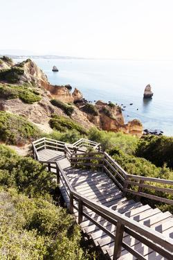 Welcome to Portugal Collection - Stairs to Camilo Beach II by Philippe Hugonnard