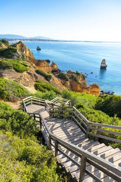 Welcome to Portugal Collection - Stairs to Camilo Beach by Philippe Hugonnard