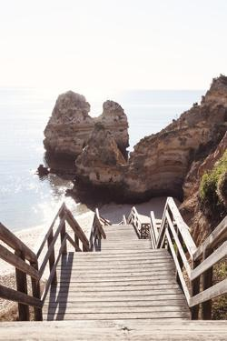Welcome to Portugal Collection - Stairs to the Beach II by Philippe Hugonnard