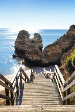 Welcome to Portugal Collection - Stairs to the Beach by Philippe Hugonnard