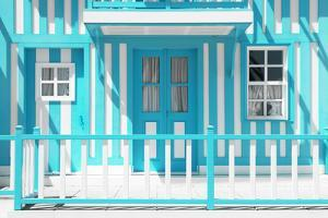 Welcome to Portugal Collection - The Turquoise House by Philippe Hugonnard