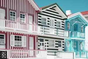 Welcome to Portugal Collection - Traditional Houses of Costa Nova II by Philippe Hugonnard