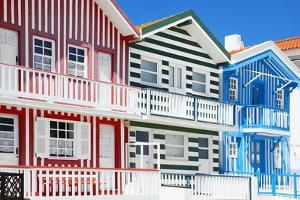 Welcome to Portugal Collection - Traditional Houses of Costa Nova by Philippe Hugonnard