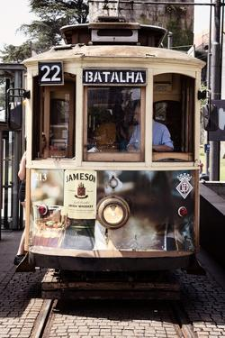 Welcome to Portugal Collection - Tram in Porto II by Philippe Hugonnard