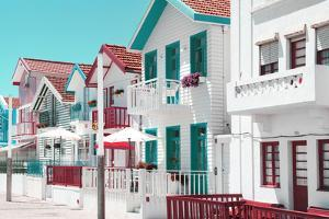 Welcome to Portugal Collection - Typical Houses of Costa Nova II by Philippe Hugonnard