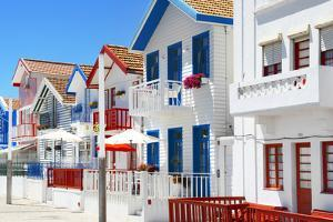 Welcome to Portugal Collection - Typical Houses of Costa Nova by Philippe Hugonnard