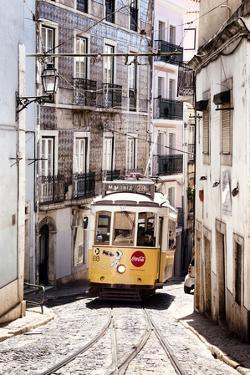 Welcome to Portugal Collection - Vintage Lisbon Tram 28 II by Philippe Hugonnard