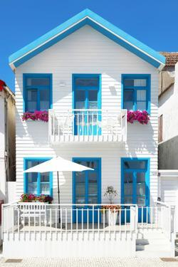 Welcome to Portugal Collection - White House and Blue Windows by Philippe Hugonnard