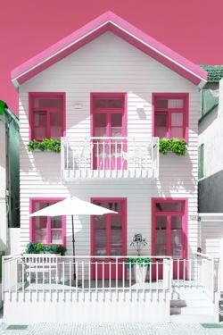 Welcome to Portugal Collection - White House and Pink Windows by Philippe Hugonnard