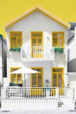 Welcome to Portugal Collection - White House and Yellow Windows by Philippe Hugonnard