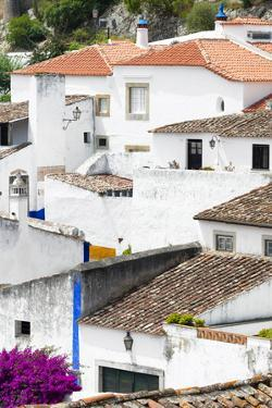 Welcome to Portugal Collection - White Houses Obidos II by Philippe Hugonnard