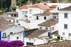 Welcome to Portugal Collection - White Houses Obidos by Philippe Hugonnard