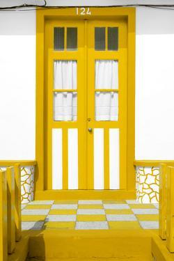 Welcome to Portugal Collection - Yellow House Entrance by Philippe Hugonnard