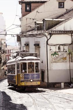 Welcome to Portugal Collection - Yellow Lisbon Tram 28 II by Philippe Hugonnard