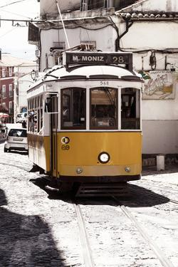 Welcome to Portugal Collection - Yellow Lisbon Tramway 28 II by Philippe Hugonnard