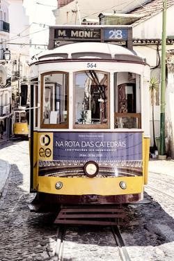 Welcome to Portugal Collection - Yellow Lisbon Tramway II by Philippe Hugonnard