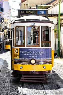 Welcome to Portugal Collection - Yellow Lisbon Tramway by Philippe Hugonnard