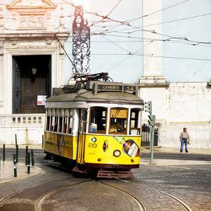 Welcome to Portugal Square Collection - Camoes 24 Lisbon Tramway by Philippe Hugonnard