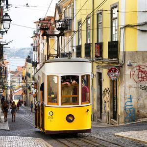Welcome to Portugal Square Collection - Lisbon Tram by Philippe Hugonnard