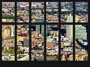 Window View - Cityscape of Queens with the Silvercup Studios - New York City by Philippe Hugonnard
