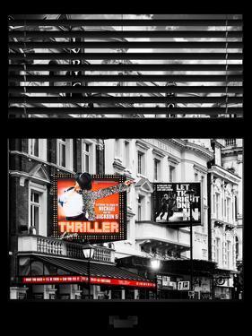 Window View of Thriller Live Lyric Theatre London - Celebration of Michael Jackson - UK - England by Philippe Hugonnard