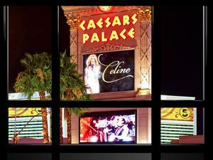 Window View, Special Series, Celine Dion, Caesars Palace, Las Vegas, Nevada, United States by Philippe Hugonnard