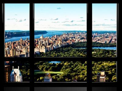 Window View, Special Series, Central Park and Upper Manhattan Views, New York by Philippe Hugonnard