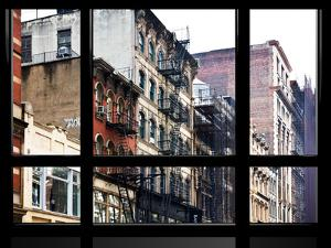 Window View, Special Series, Soho Building, Manhattan, New York City, United States by Philippe Hugonnard