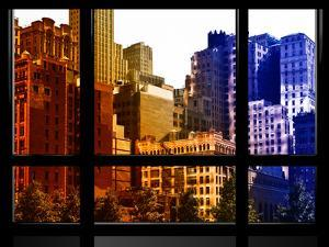 Window View, Special Series, World Trade Center, Buildings and Structures, Manhattan, NYC, US by Philippe Hugonnard