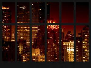 Window View - Top of the Empire State Building and the New Yorker - Manhattan - New York City by Philippe Hugonnard