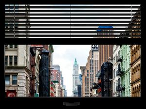 Window View with Venetian Blinds: 401 Broadway by Philippe Hugonnard