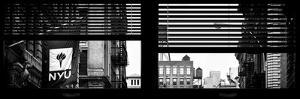 Window View with Venetian Blinds: Architecture and Buildings by Philippe Hugonnard